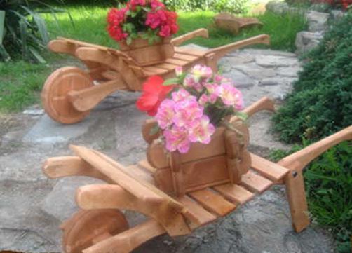 Изделия в саду своими руками картинки